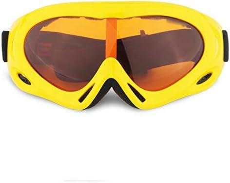 スキーゴーグル、防曇機能付きOTGスノーボードゴーグル、UV400保護ヘルメット対応スノーゴーグル男性用女性取り外し可能デュアルレンズ(ゴーグル)