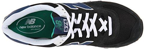 Black Blue Sneaker NBML574MON New Balance Uomo gwq0xTIF