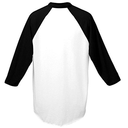 Augusta Sportswear Men's Baseball Jersey, Small, White/Black ()