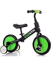 دراجة توازن هوائية للاطفال متعددة الاستخدامات من ماما ميا - لون اخضر
