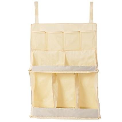 hiltow bebé cama colgante guardería y pañales organizador – Material ligero nailon con correas de velcro