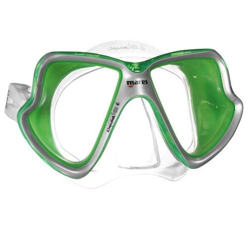Mares X-Vision LiquidSkin Dive Mask-Clear / Green