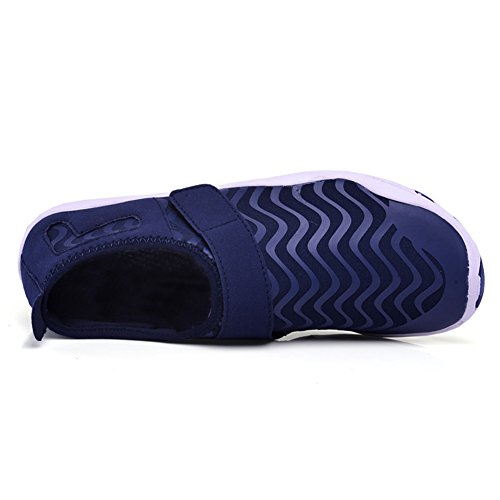 Drying Unisex Blue Slip Shoes Quick Mens Aqua for Socks Eagsouni Swimming Shoes Barefoot Skin Womens Yoga Beach Water On 0WqZAUx