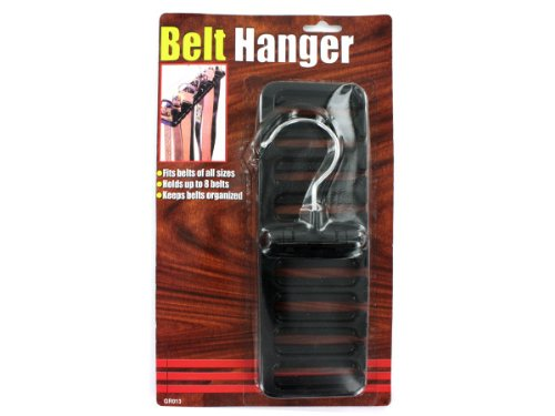 24 Plastic Belt Hangers by bulk buys