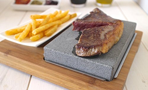 Lavastein-Set / Lavastein-Steak-Set