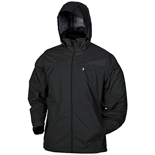 Frogg Toggs River Toadz Pack Jacket, Black, Size Medium