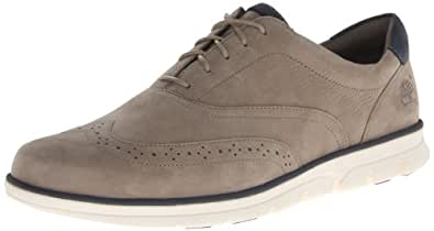 Timberland Men's Bradstreet Wing Oxford,Taupe,10.5 M US