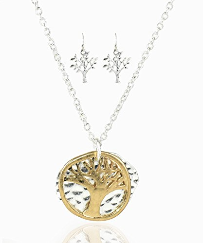 James Lawrence Necklace Earring Set-Eden Merry-Tree of Life-Small