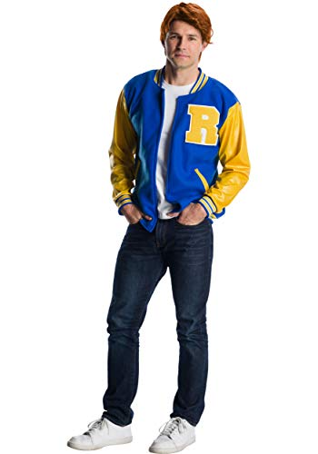 Rubie's Men's Riverdale Deluxe Archie Andrews, As Shown, Standard