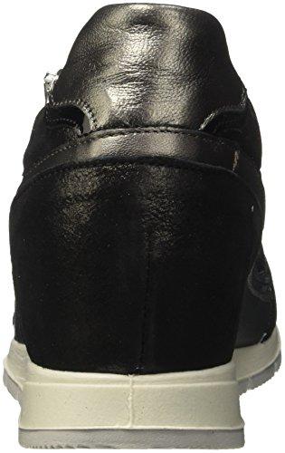 Det amp;co 00 Zapatillas Negro 11580 nero Igi Mujer Para PzdZyyp7
