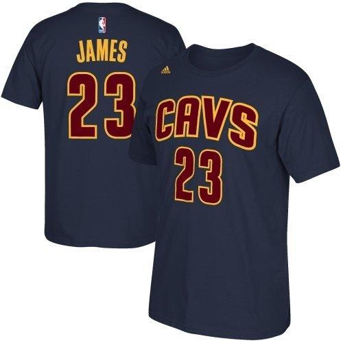 Lebron James Cleveland Cavaliers Basketball Jersey T Shirt - XXL - Navy