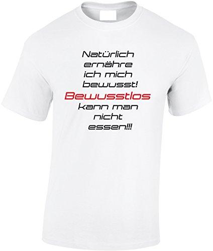 Camisetas Designer 5xl ernaehrung Cool con texto tambi hombre S Bewusste de Shirt 7qrwS7B