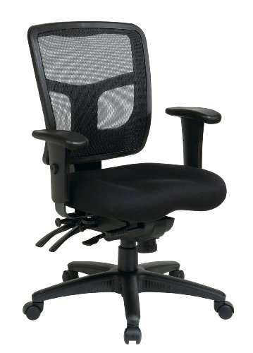Office Star Mid Back ProGrid Back FreeFlex Seat with Adjusta