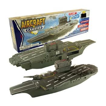 Amazon.com: Disney Planes Aircraft Carrier Playset: Toys ...