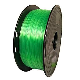 Filamento para impresora 3D, 1,75 mm, filamento PETG, verde claro ...