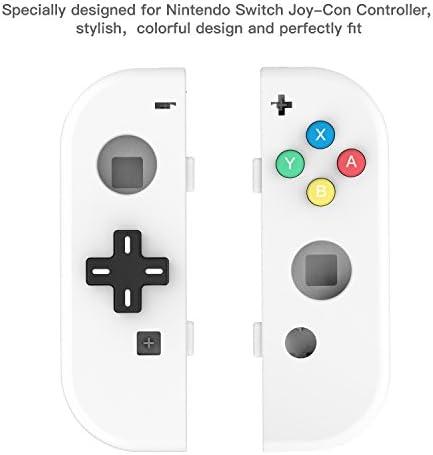 NS Joycon Handheld Controller Housing DIY Replacement Shell Case for Nintendo Switch Joy-Con (L/R) Without Electronics (Joycon D-Pad-White) …: Amazon.es: Videojuegos