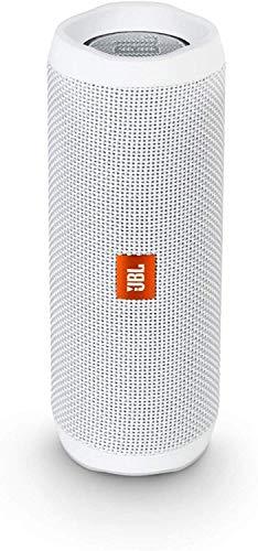 JBL Flip 4 Waterproof Portable Bluetooth Speaker - White in USA