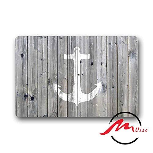 ZMvise Anchor Floor Board Non-Slip Bath Shower Area Rug Floor Door Mats Front Entry Carpet Indoor Doormat Outdoor Felt
