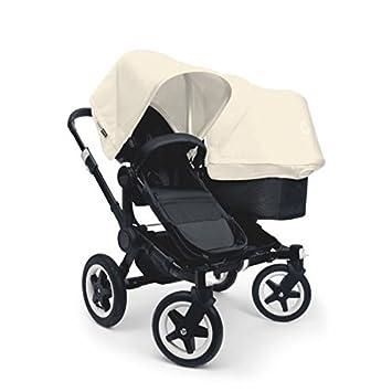 Amazon.com: Bugaboo Donkey Duo carriola Bundle – Off White: Baby