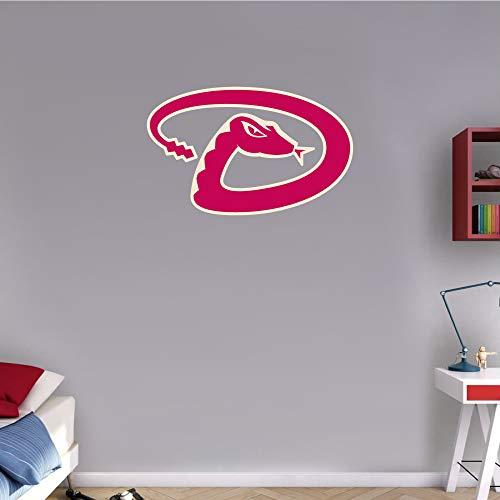 skyhighprint - Arizona Diamond Backs MLB Baseball Logo Sport Wall Decor Print Sticker 25'' X 16''