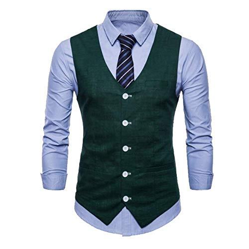 Xdljl Homme Britannique Et Automne Printemps Affaires Robe Casual Gilet Costume En Gentleman C q4raq5Rw