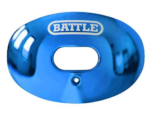 Battle Oxygen Lip Protector Mouthguard (Blue Chrome, One Measurement) – DiZiSports Store