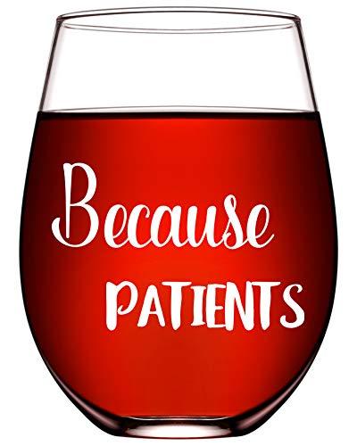 Funny Nurse Wine Glasses