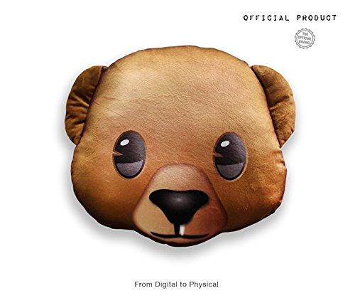 Emoji- Cojín Impreso Oso Oficial (PIW_Bear_PT): Amazon.es ...