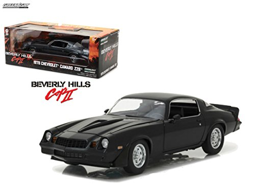 NEW 1:18 GREENLIGHT HOLLYWOOD COLLECTION - Beverly Hills Cop II (1987) - Black 1978 Chevrolet Camaro Z28 Diecast Model Car By Greenlight