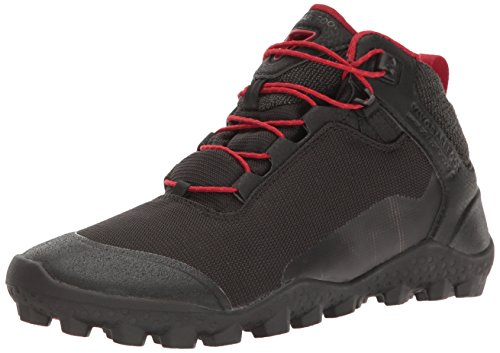 Vivobarefoot Men's Hiker Lightweight Soft Ground Hiking Boot Walking-Shoes, Black, 44 D EU (11 US) (Ground Soft)
