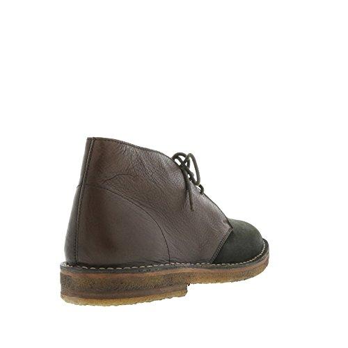 8100 Melrose Mens Oliva E Marrone 2 Toni Desert Boot Brown / Olive