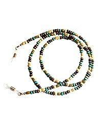 Bohemia Style Wood Ball Beads Chain Sunglasses Eyeglass Lanyard Holder