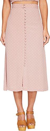 Flynn Skye Women's Sophia Skirt Mauve Cluster Skirt