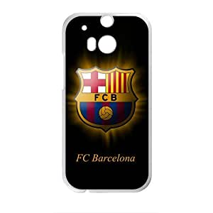 FC Barcelona Pattern Fashion Comstom Plastic case cover For HTC One M8