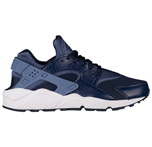NIKE Air Huarache Run Womens Style : 634835 Womens 634835-408 Diffused Blue/Obsidian MQq6dl