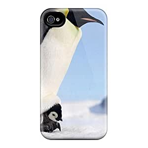 Fashion ZARcCrv3250rbTdt Case Cover For Iphone 4/4s(emperop Penguins) by Maris's Diary