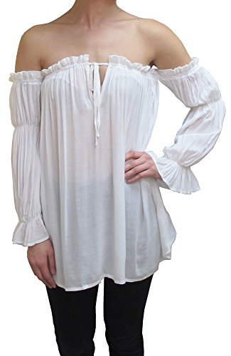 Anna Kaci Womens Peasant Sleeve Shoulder product image
