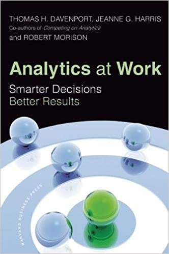 Analytics at work smarter decisions better results thomas h analytics at work smarter decisions better results thomas h davenport jeanne g harris robert morison 0884526971187 amazon books fandeluxe Choice Image