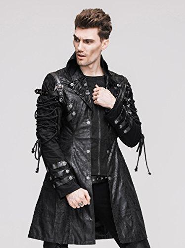 Steampunk Coat Gothic Clothing Victorian Cyberpunk Punk ...