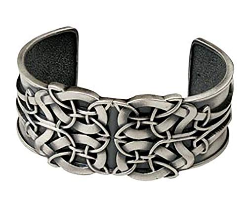 (Celtic Knot Bracelet - Pewter - 2.75'' Diameter)