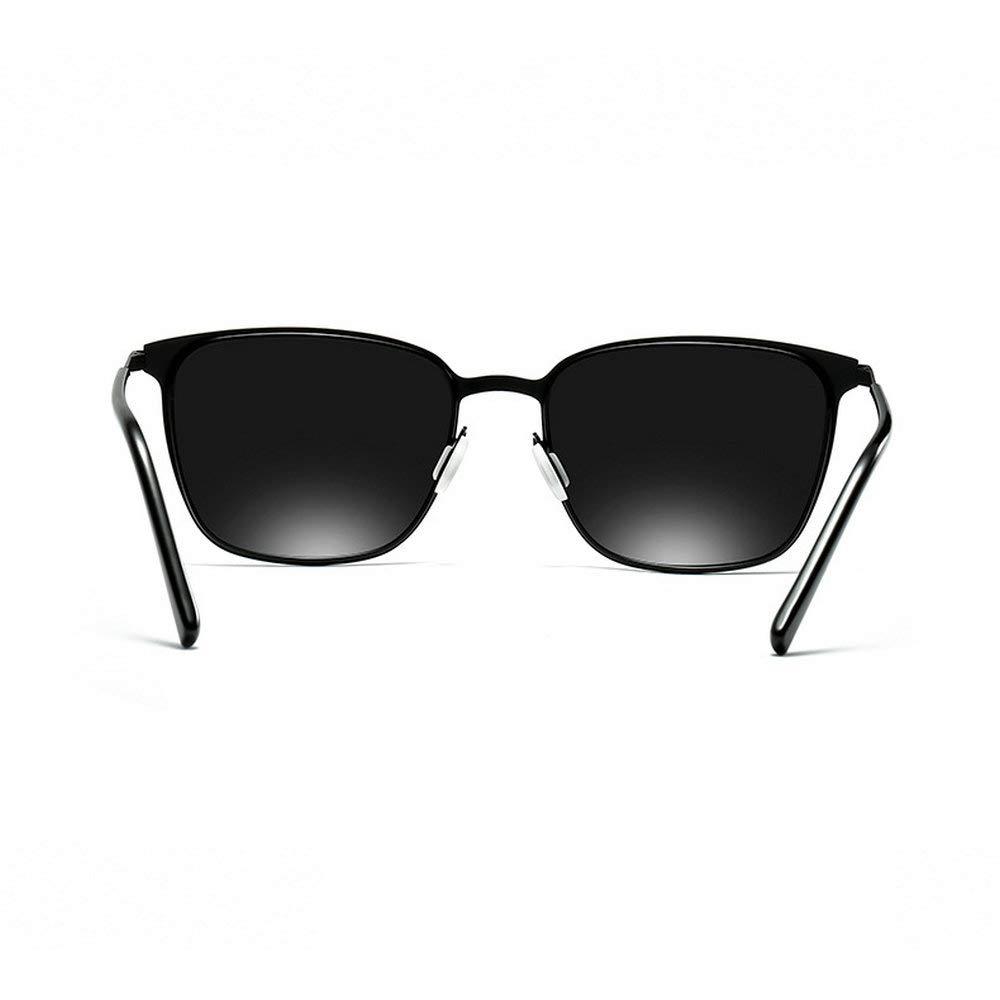 Mens new custom myopia polarized 0 to 6.0 reduced optical grade beam sunglasses metal square polarized sunglasses