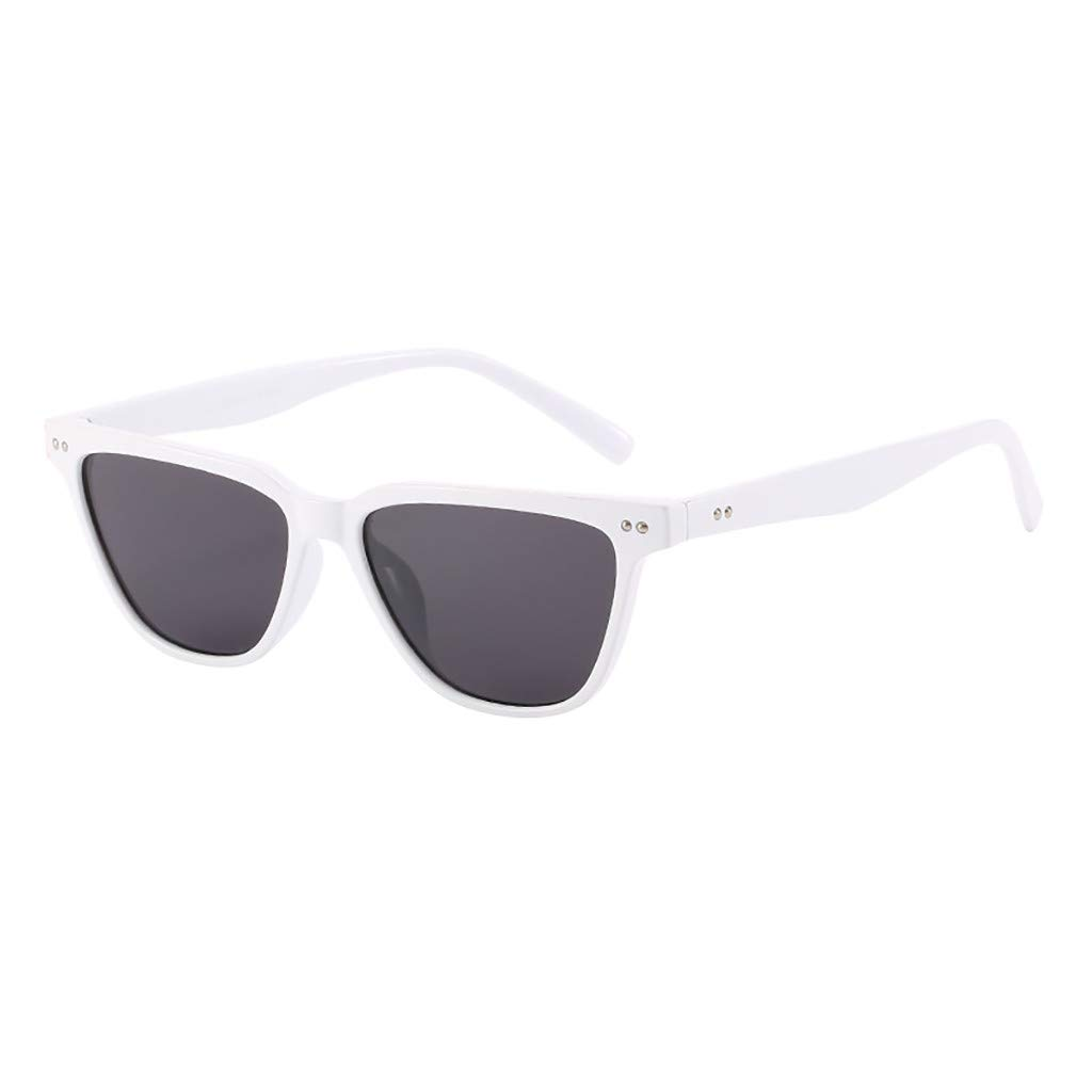 Dream/_mimi Unisex Fashion Small Frame Sunglasses Vintage Retro Irregular Shape Sun Glasses Eyewear