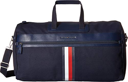 Price comparison product image Tommy Hilfiger Men's Icon Duffel Canvas Tommy Navy One Size