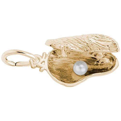 Rembrandt Charms Oyster Charm, 14K Yellow Gold ()