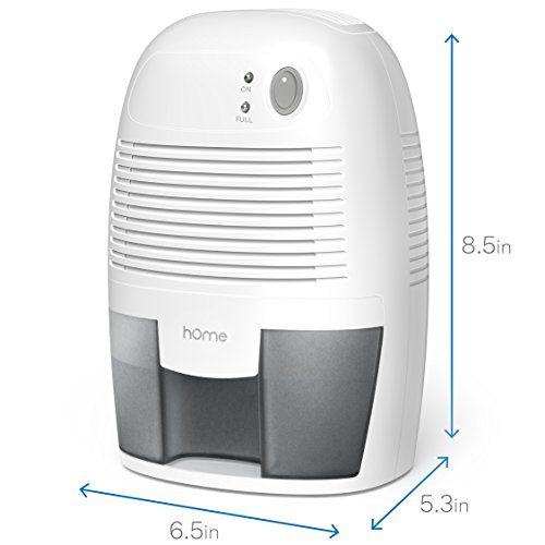 Home Small Dehumidifier For 1200 Cu Ft 150 Sq Ft