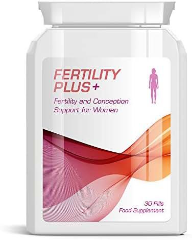 FERTILITY PLUS FEMALE FERTILITY & CONCEPTION SUPPORT PILLS FOR WOMEN PREGNANT
