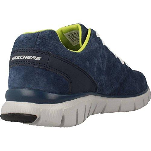 Skechers Skech-Flex - Natural Vigor, Men's Trainers Blue (Nvlm)