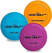 Franklin Sports Disc Golf Discs