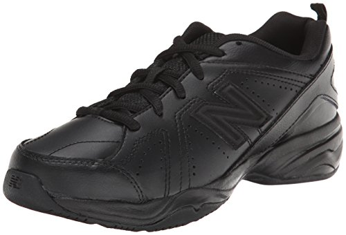 Price comparison product image New Balance KX624 Lace-Up Training Shoe (Little Kid/Big Kid),Black,2 M US Little Kid