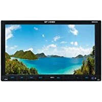 DP Audio Video DBD805 7-Inch Touch Screen Motorized DVD Receiver